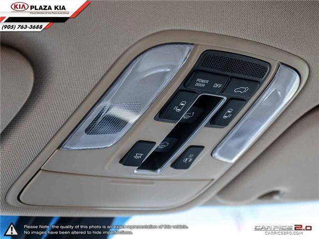 2017 Kia Sedona SXL+ (Stk: 3350) in Richmond Hill - Image 22 of 33
