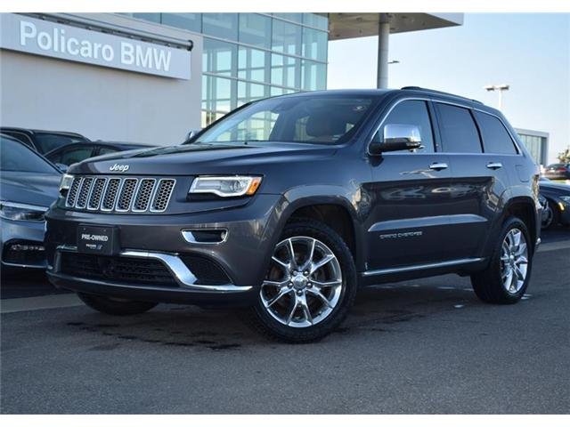 2016 Jeep Grand Cherokee Summit (Stk: 8D70256A) in Brampton - Image 1 of 14