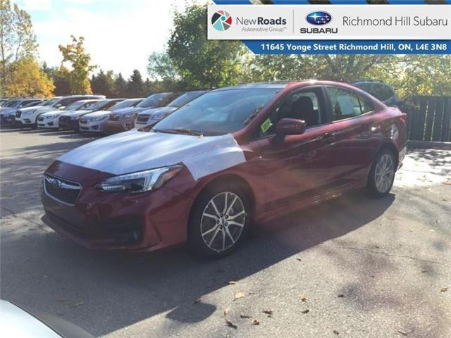 2019 Subaru Impreza 4-dr Sport Eyesight AT (Stk: 32171) in RICHMOND HILL - Image 1 of 19