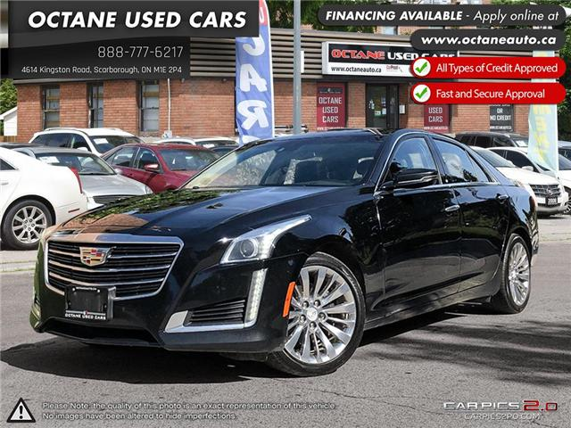 2015 Cadillac CTS 2.0L Turbo Luxury (Stk: ) in Scarborough - Image 1 of 25