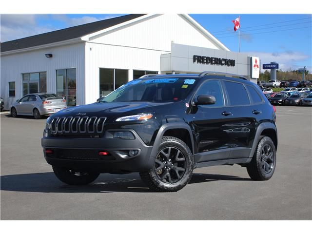 2018 Jeep Cherokee Trailhawk (Stk: 180901A) in Fredericton - Image 1 of 28