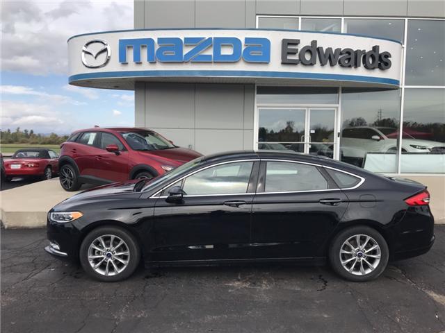 2017 Ford Fusion SE at $21144 for sale in Pembroke - Edward's Mazda