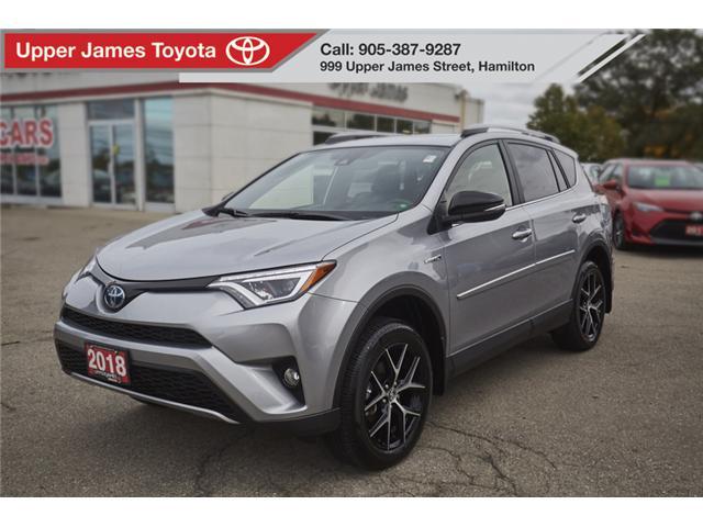 2018 Toyota RAV4 Hybrid SE (Stk: 66752) In Hamilton   Image 1 Of