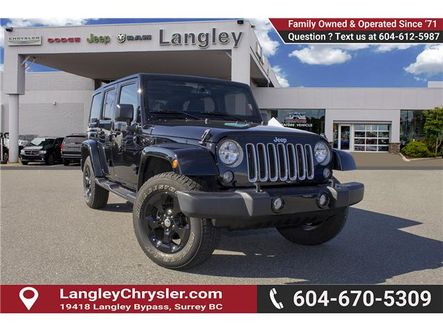 2016 Jeep Wrangler Unlimited Sahara (Stk: EE898320A) in Surrey - Image 1 of 21
