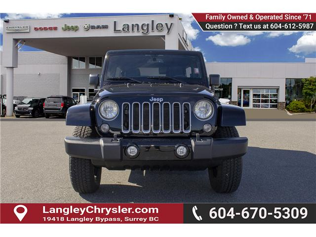 2016 Jeep Wrangler Unlimited Sahara (Stk: EE898320A) in Surrey - Image 2 of 21