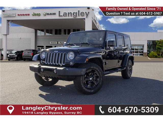 2016 Jeep Wrangler Unlimited Sahara (Stk: EE898320A) in Surrey - Image 3 of 21