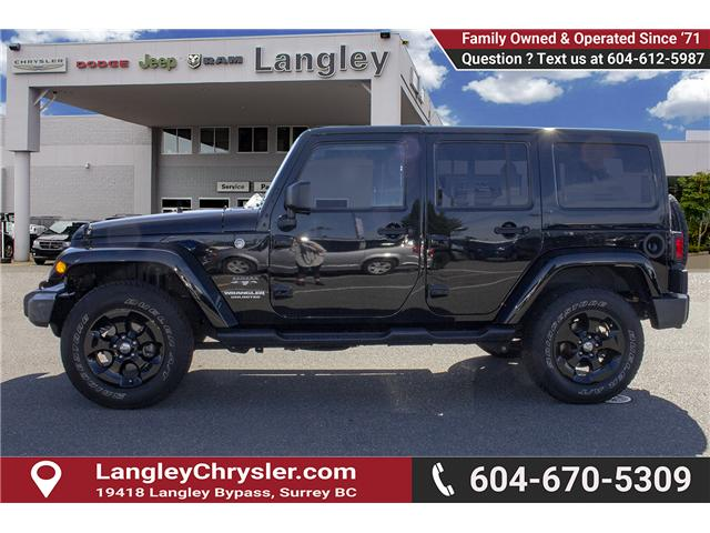 2016 Jeep Wrangler Unlimited Sahara (Stk: EE898320A) in Surrey - Image 4 of 21