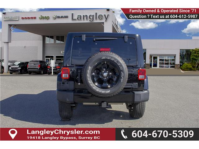 2016 Jeep Wrangler Unlimited Sahara (Stk: EE898320A) in Surrey - Image 5 of 21