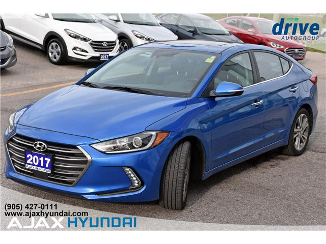 2017 Hyundai Elantra Limited Ultimate (Stk: 17878) in Ajax - Image 3 of 27
