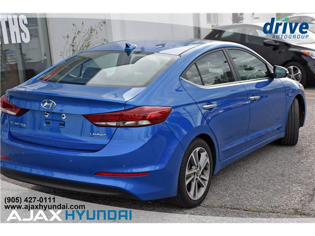 2017 Hyundai Elantra Limited Ultimate (Stk: 17878) in Ajax - Image 6 of 27