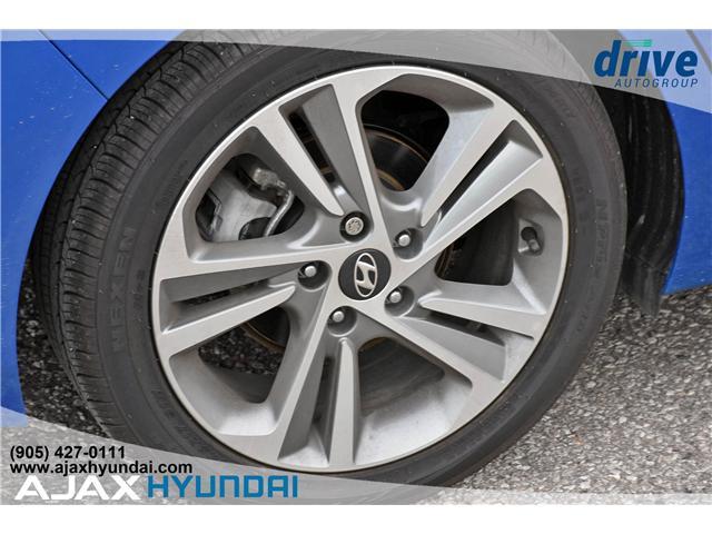 2017 Hyundai Elantra Limited Ultimate (Stk: 17878) in Ajax - Image 7 of 27