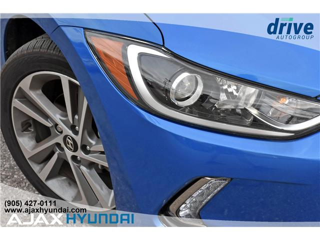 2017 Hyundai Elantra Limited Ultimate (Stk: 17878) in Ajax - Image 9 of 27