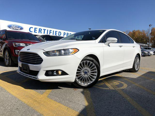 2015 Ford Fusion Titanium (Stk: FP181399A) in Barrie - Image 1 of 30