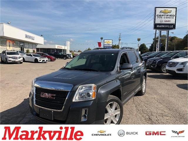 2011 GMC Terrain SLT-AWD-LEATHER-GM CERTIFIED PRE-OWNED-1 OWNER (Stk: P6255) in Markham - Image 1 of 16