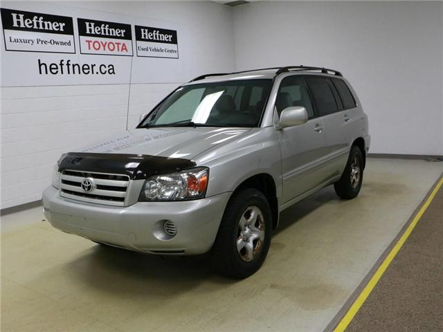 2005 Toyota Highlander V6 (Stk: 186182) in Kitchener - Image 1 of 24