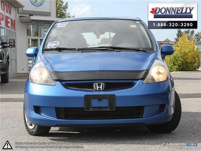 2008 Honda Fit LX (Stk: PBWDUR5844A) in Ottawa - Image 2 of 28