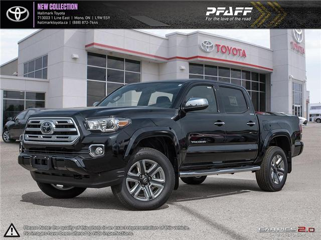 2018 Toyota Tacoma 4x4 Double Cab V6 Limited 6A (Stk: H18578) in Orangeville - Image 1 of 28