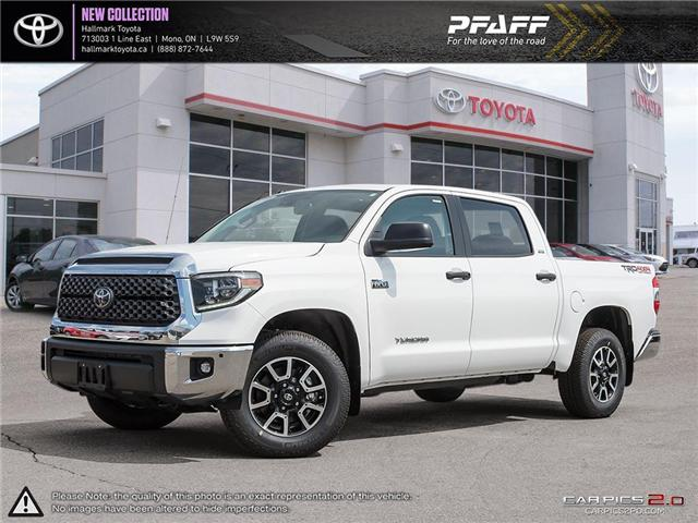 2018 Toyota Tundra 4x4 CrewMax SR5 Plus 5.7 6A (Stk: H18694) in Orangeville - Image 1 of 29