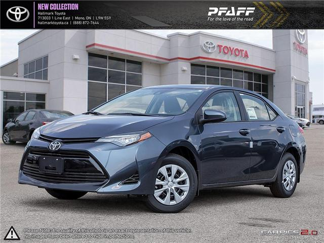 2019 Toyota Corolla 4-door Sedan CE CVTi-S (Stk: H19013) in Orangeville - Image 1 of 28