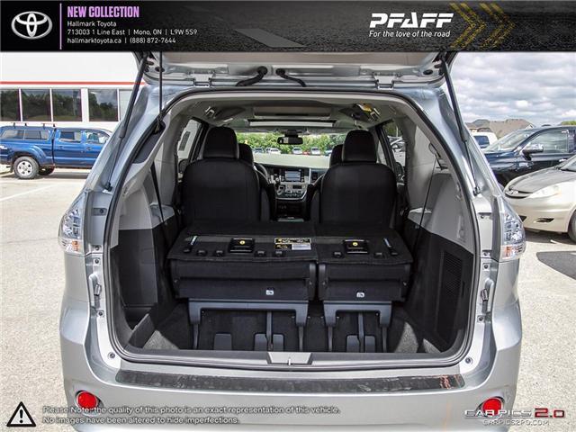 2019 Toyota Sienna SE AWD 7-Passenger V6 (Stk: H19045) in Orangeville - Image 11 of 29
