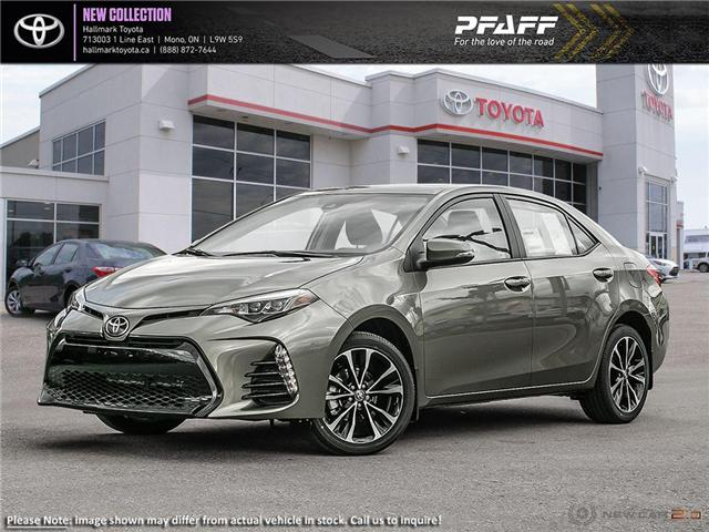 2019 Toyota Corolla 4-door Sedan SE CVTi-S (Stk: H19078) in Orangeville - Image 1 of 24