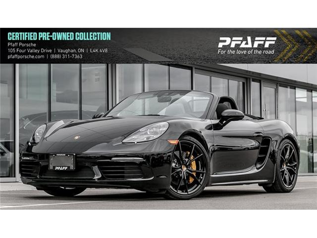 2017 Porsche 718 Boxster S (Stk: U7353) in Vaughan - Image 1 of 19