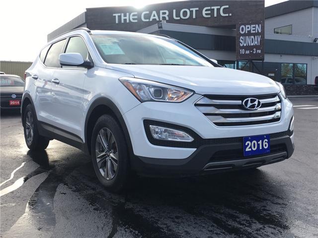 2016 Hyundai Santa Fe Sport 2.4 Premium (Stk: 18519) in Sudbury - Image 1 of 13
