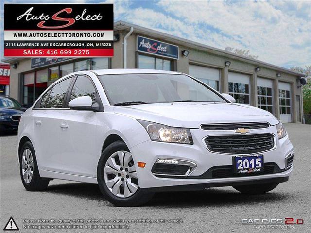 2015 Chevrolet Cruze  (Stk: 15QAD8W) in Scarborough - Image 1 of 28