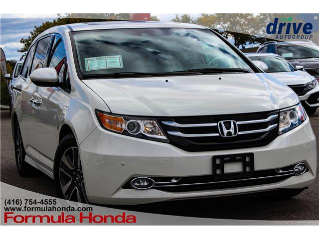 2017 Honda Odyssey Touring (Stk: 18-0689A) in Scarborough - Image 1 of 34
