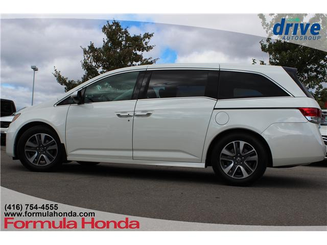 2017 Honda Odyssey Touring (Stk: 18-0689A) in Scarborough - Image 5 of 34