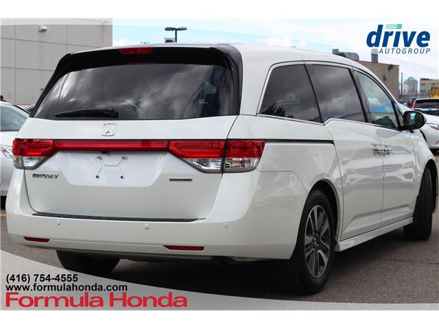 2017 Honda Odyssey Touring (Stk: 18-0689A) in Scarborough - Image 8 of 34