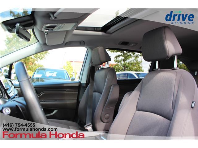 2018 Honda Odyssey EX (Stk: B10631) in Scarborough - Image 10 of 32