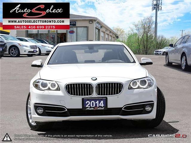 2014 BMW 528i xDrive (Stk: 14M5WM3) in Scarborough - Image 2 of 30