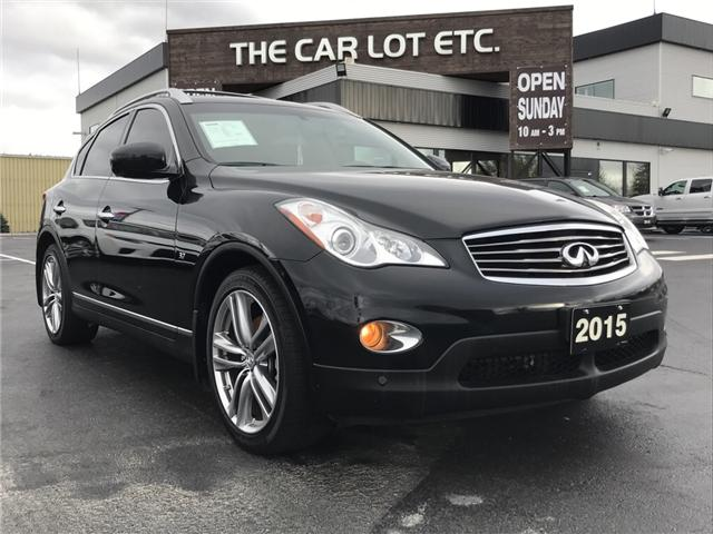2015 Infiniti QX50 Base (Stk: 18521) in Sudbury - Image 1 of 14