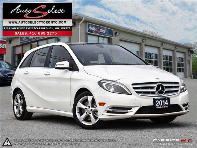 2014 Mercedes-Benz B-Class  (Stk: 14Q2T50) in Scarborough - Image 1 of 28