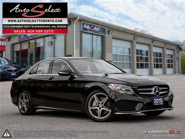 2015 Mercedes-Benz C-Class 4Matic (Stk: MBZXZ151) in Scarborough - Image 1 of 28