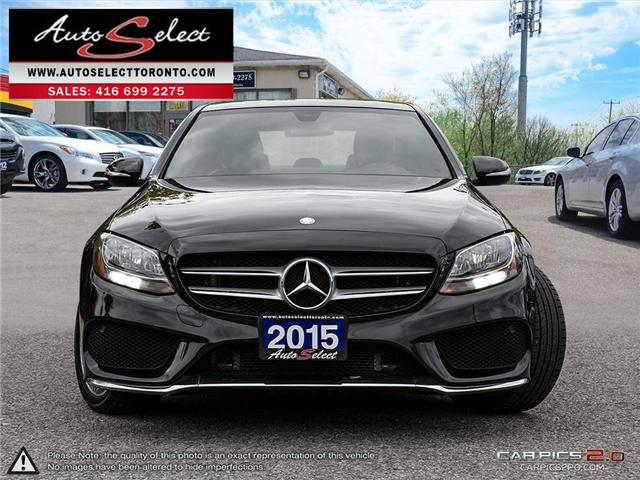 2015 Mercedes-Benz C-Class 4Matic (Stk: MBZXZ151) in Scarborough - Image 2 of 28