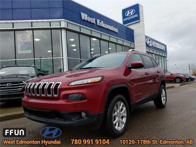 2014 Jeep Cherokee North (Stk: E4129) in Edmonton - Image 1 of 21
