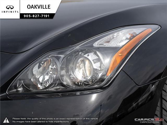 2013 Infiniti G37 Sport (Stk: Q18340A) in Oakville - Image 9 of 25