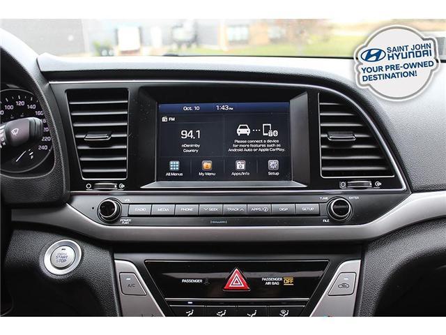 2018 Hyundai Elantra GL SE (Stk: U1918) in Saint John - Image 14 of 21