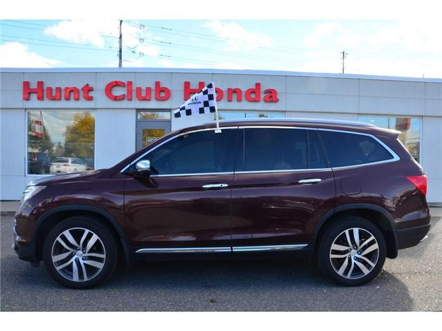 2016 Honda Pilot Touring (Stk: 6849A) in Gloucester - Image 1 of 30