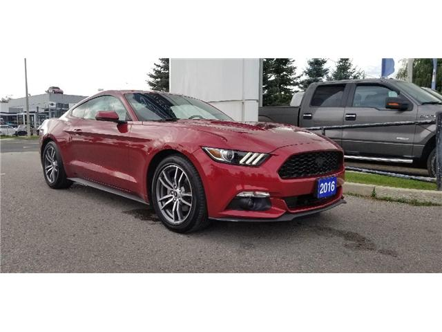 2016 Ford Mustang EcoBoost Premium (Stk: P8349) in Unionville - Image 1 of 28