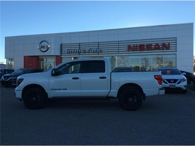2018 Nissan Titan SL Midnight Edition (Stk: 18-254) in Smiths Falls - Image 1 of 12