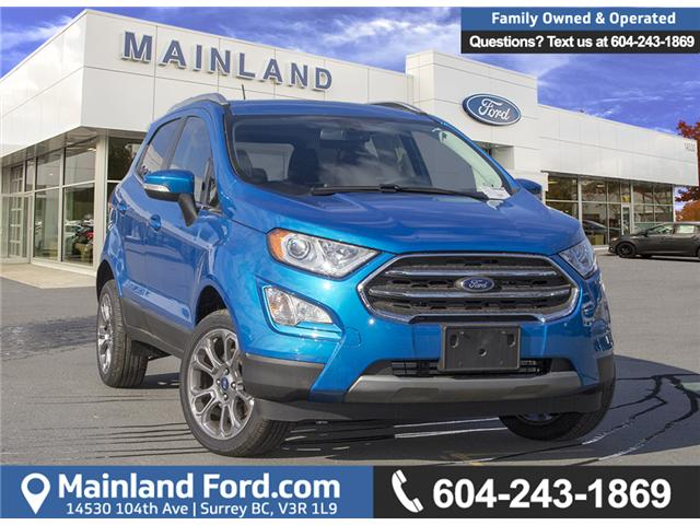 2018 Ford EcoSport Titanium (Stk: 8EC7552) in Surrey - Image 1 of 23