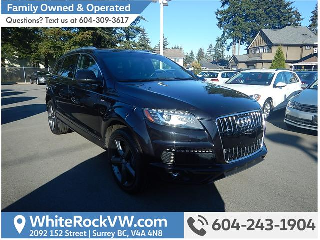 2015 Audi Q7 3.0T Sport (Stk: VW0759) in Surrey - Image 1 of 17