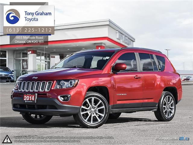 2014 Jeep Compass Limited (Stk: 57216A) in Ottawa - Image 1 of 27