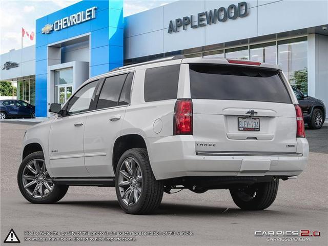2018 Chevrolet Tahoe Premier (Stk: T8K064) in Mississauga - Image 4 of 24