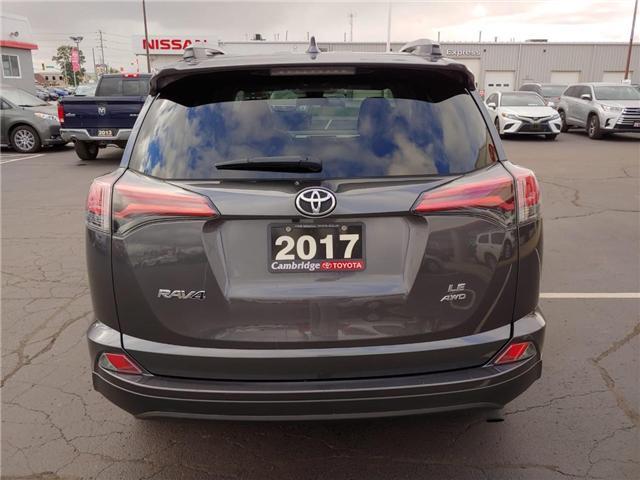 2017 Toyota RAV4  (Stk: P0054110) in Cambridge - Image 7 of 14