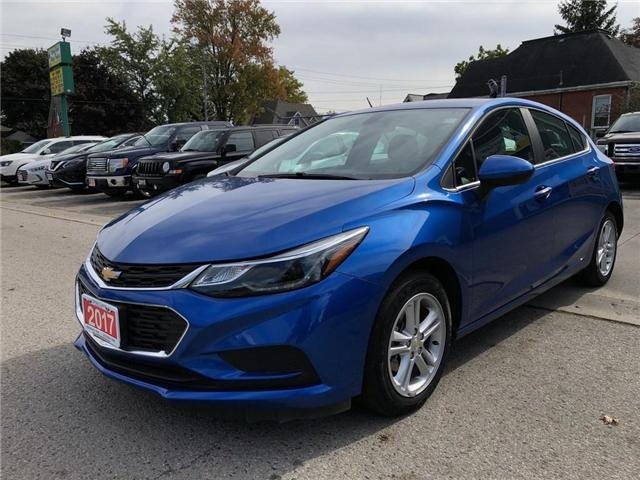 2017 Chevrolet Cruze LT Auto (Stk: 3G1BE6) in Belmont - Image 1 of 18