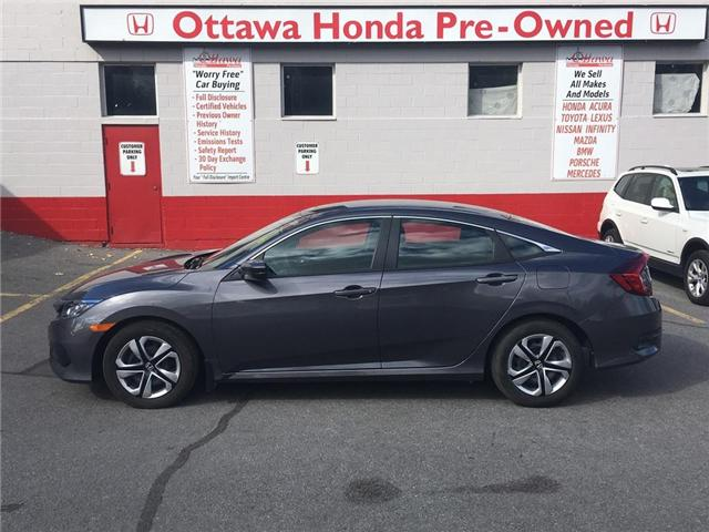 2017 Honda Civic LX (Stk: H7308-0) in Ottawa - Image 1 of 19